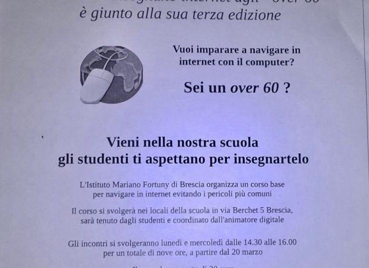 """Gli studenti insegnano internet agli """"over 60"""""""