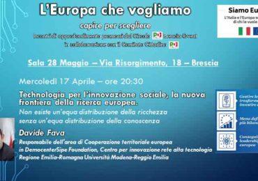 PdBsOvestNEWS n. 7 - Verso l'Europa che vogliamo.