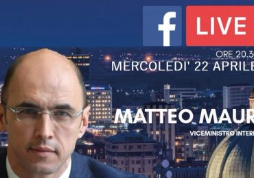 streaming con il vice ministro dell'Interno MATTEO MAURI
